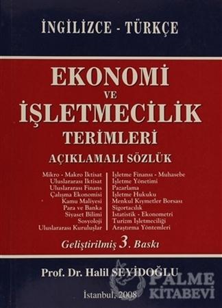 Resim Ekonomi ve İşletmecilik Terimleri  Açıklamalı Sözlük İngilizce - Türkçe