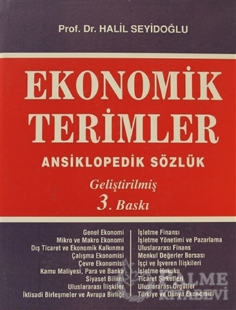 Resim Ekonomik Terimler Ansiklopedik Sözlük