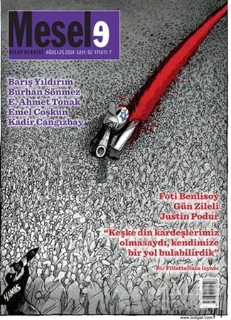 Resim Mesele Kitap Dergisi Sayı: 92