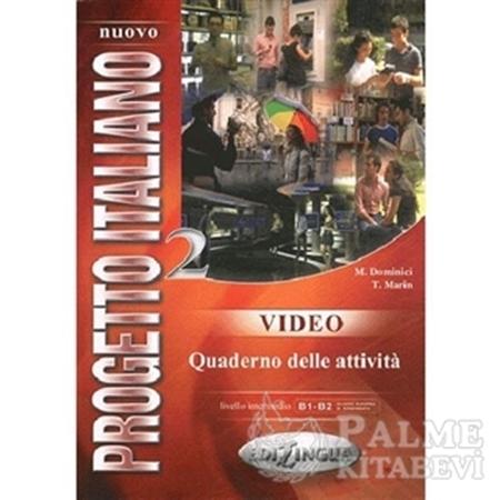 Resim Nuovo Progetto Italiano 2 Video Quaderno delle attivita B1-B2