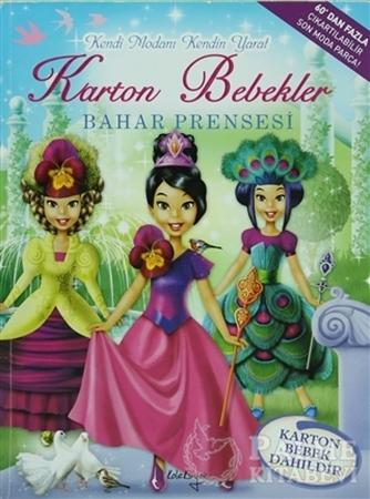 Resim Karton Bebekler - Bahar Prensesi