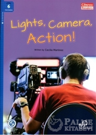 Resim Lights, Camera, Action! +Downloadable Audio (Compass Readers 6) B1