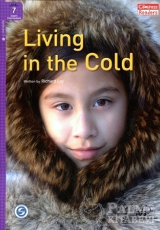Resim Living in the Cold +Downloadable Audio (Compass Readers 7)B2