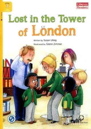 Resim Lost in the Tower of London +Downloadable Audio (Compass Readers 3) A1
