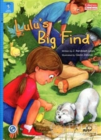 Resim Lulu's Big Find +Downloadable Audio (Compass Readers 5) A2