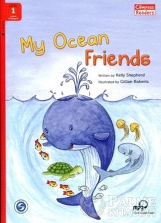 Resim My Ocean Friends +Downloadable Audio (Compass Readers 1) Below A1