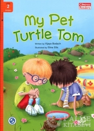 Resim My Pet Turtle Tom +Downloadable Audio (Compass Readers 2) A1