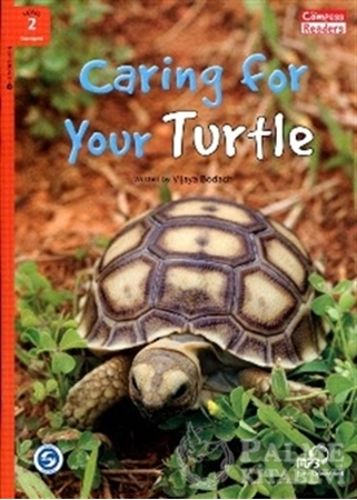 Resim Caring for Your Turtle +Downloadable Audio (Compass Readers 2) A1