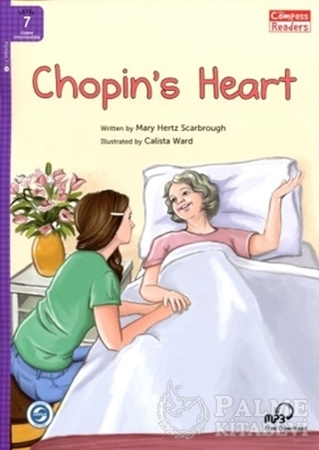 Resim Chopin's Heart +Downloadable Audio (Compass Readers 7) B2