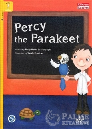 Resim Percy The Parakeet + Downloadable Audio (Compass Readers 3) A1