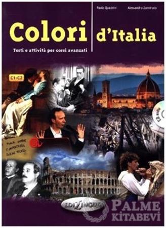 Resim Colori d'Italia +CD (C1-C2)