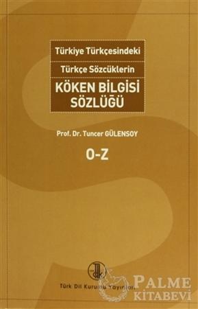 Resim Türkiye Türkçesindeki Türkçe Sözcüklerin Köken Bilgisi Sözlüğü (2 Cilt Takım)