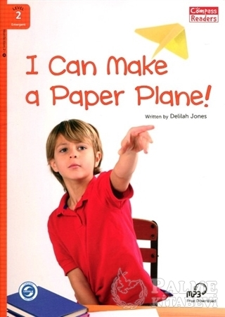 Resim I Can Make a Paper Plane! +Downloadable Audio (Compass Readers 2) A1