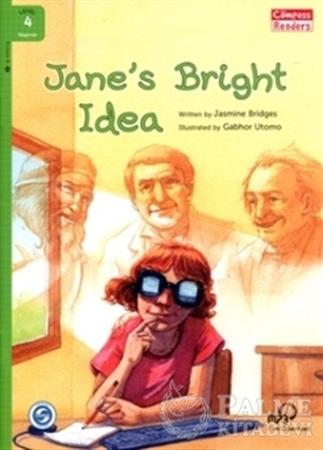 Resim Jane's Bright Ideas +Downloadable Audio (Compass Readers 4) A1