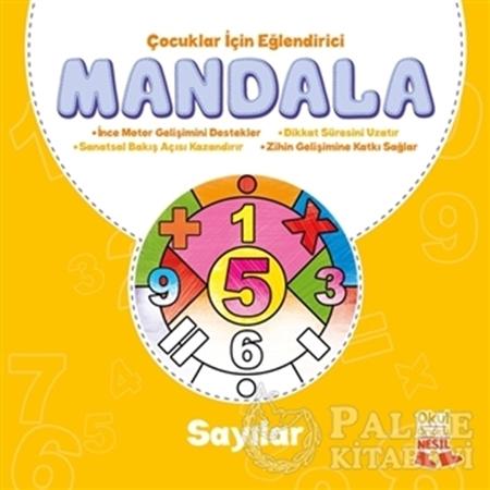 Resim Çocuklar İçin Eğlendirici Mandala: Sayılar