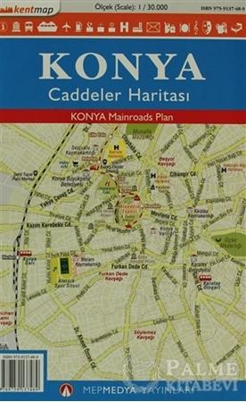 Resim Kentmap Konya Caddeler Haritası