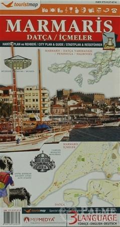 Resim Touristmap Marmaris  Datça - İçmeler