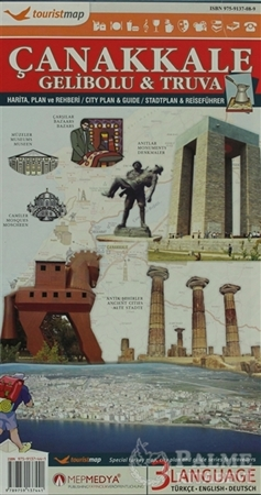 Resim Touristmap Çanakkale Gelibolu - Truva
