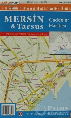 Resim Kentmap Mersin - Tarsus Caddeler Haritası