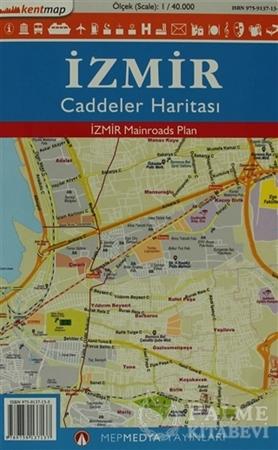 Resim Kentmap İzmir Caddeler Haritası