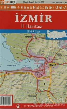 Resim Yolmap İzmir İl Haritası
