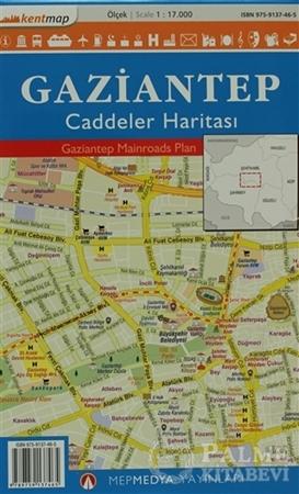 Resim Kentmap Gaziantep Caddeler Haritası