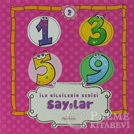 Resim İlk Bilgilerim Serisi 2. Kitap - Sayılar