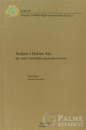 Resim Tezkire-i Hakim Ata