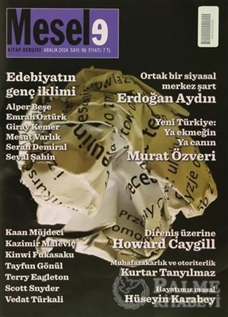 Resim Mesele Kitap Dergisi Sayı: 96