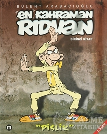 Resim En Kahraman Rıdvan Birinci Kitap - Pislik