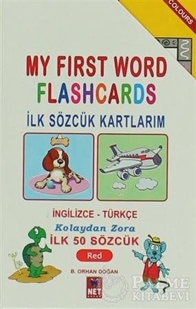 Resim İlk Sözcük Kartlarım 1 : Red