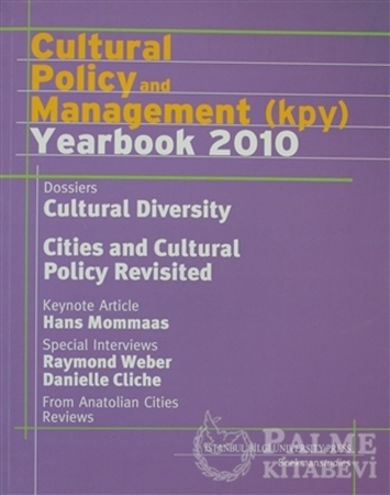 Resim Cultural Policy and Management (KPY) Yearbook 2010