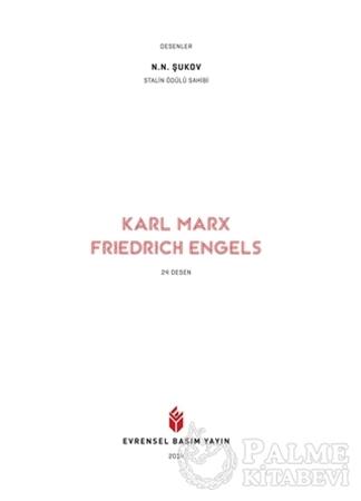 Resim Karl Marx - Friedrich Engels 24 Desen