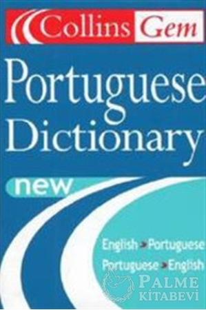 Resim Collins Gem Portuguese Dictionary English-Portuguese / Portuguese-English