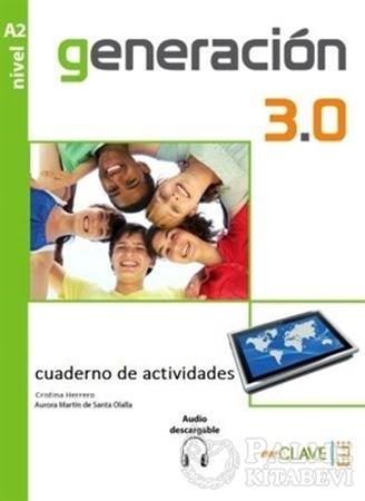 Resim Generacion 3.0 A2 Cuaderno de Actividades (Çalışma Kitabı) İspanyolca Orta-Alt Seviye