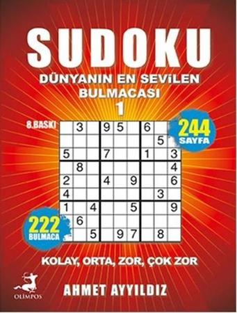 Resim Sudoku Dünyanın En Sevilen Bulmacası 1