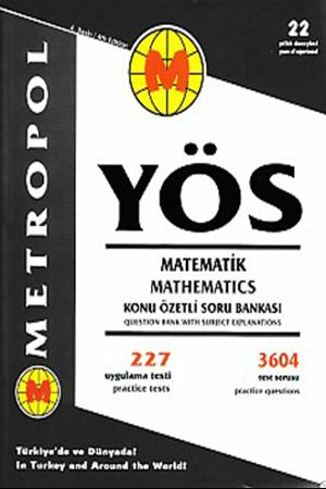 Resim YÖS Matematik Konu Özetli Soru Bankası