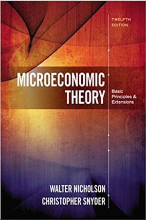 Resim Microeconomic Theory 12e