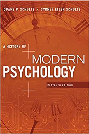 Resim A History of Modern Psychology 11e