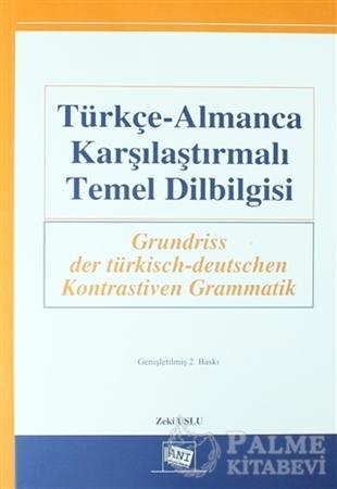 Resim Türkçe-Almanca Karşılaştırmalı Temel Dilbilgisi