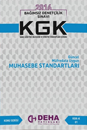 Resim KGK Muhasebe Standartları KGK - K 01