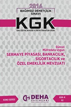 Resim KGK Sermaye Piyasası, Bankacılık, Sigortacılık ve Özel Emeklilik Mevzuatı KGK- K 02