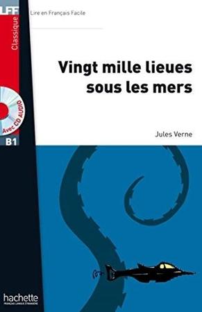 Resim Vingt Mille Lieues Sous Les Mers/Book + CD MP3