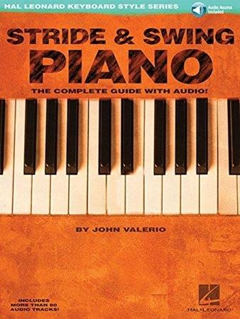Resim Stride and Swing Piano: Hal Leonard Keyboard Style Series