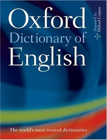 Resim Oxford Dictionary of English