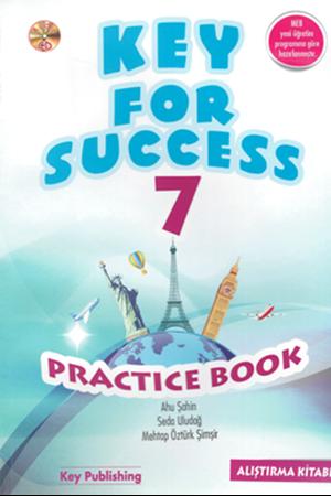 Resim 7. Sınıf Key For Success Practice Book Alıştırma Kitabı YENİ