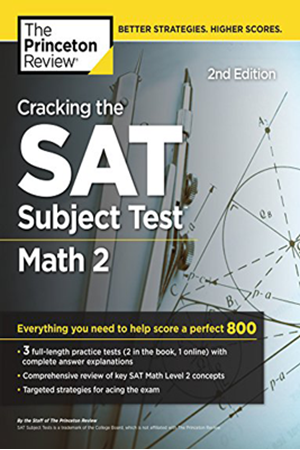 Resim Cracking the SAT Subject Test in Math 2 2e