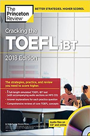 Resim Cracking the TOEFL IBT 2018 Edition
