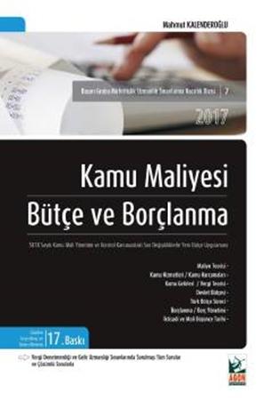 Resim Kamu Maliyesi Bütçe ve Borçlanma 5018 Sayılı Kamu Mali Yönetimi ve Kontrol Kanunundaki  Son Değişikliklerle Yeni Bütçe Uygulaması