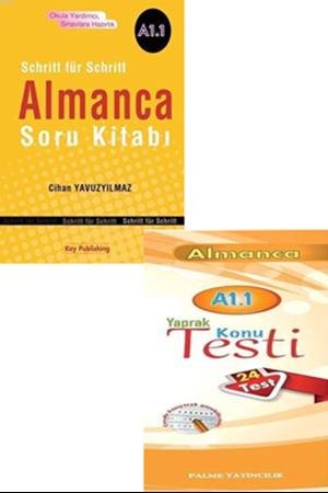 Resim Almanca Soru Kitabı + Yaprak Test A1.1 Seti